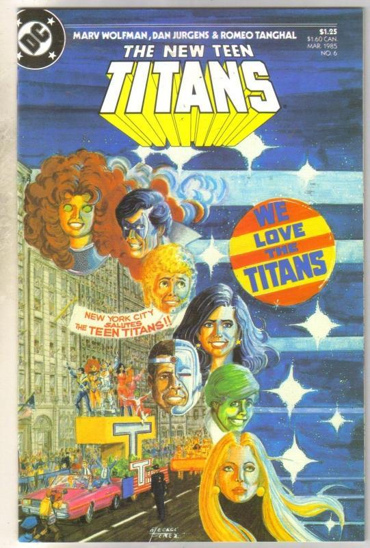 New Teen Titans #6 mint 9.8