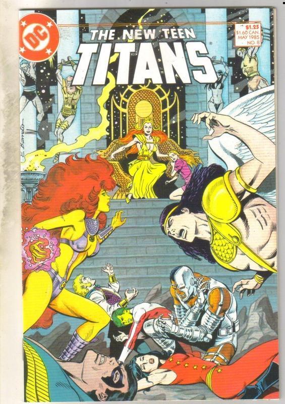 New Teen Titans #8 mint 9.8