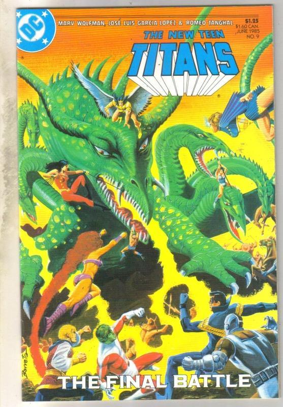 New Teen Titans #9 mint 9.8