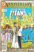 Tales of the Teen Titans #50 comic book near mint 9.4