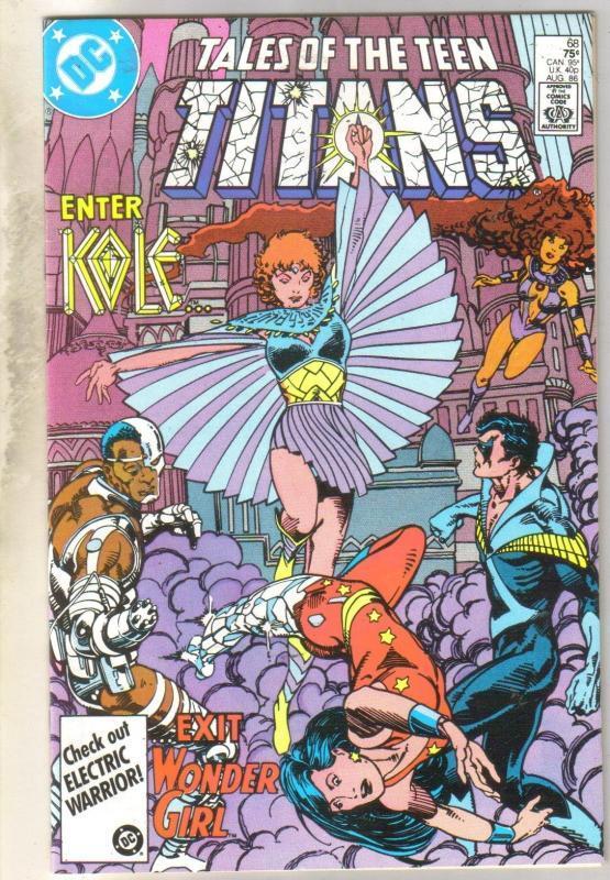 Tales of the Teen Titans #68 comic book near mint 9.4