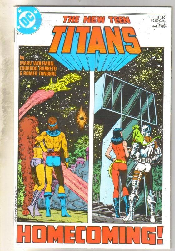 New Titans #18 comic book mint 9.8
