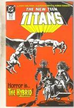 New Titans #24 comic book near mint 9.4