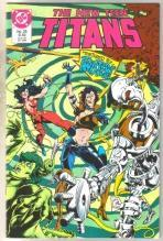 New Titans #26 comic book  mint 9.4
