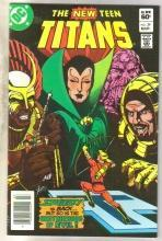 New Titans #29 comic book  mint 9.8