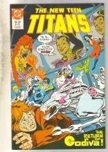 New Titans #44 comic book  mint 9.8