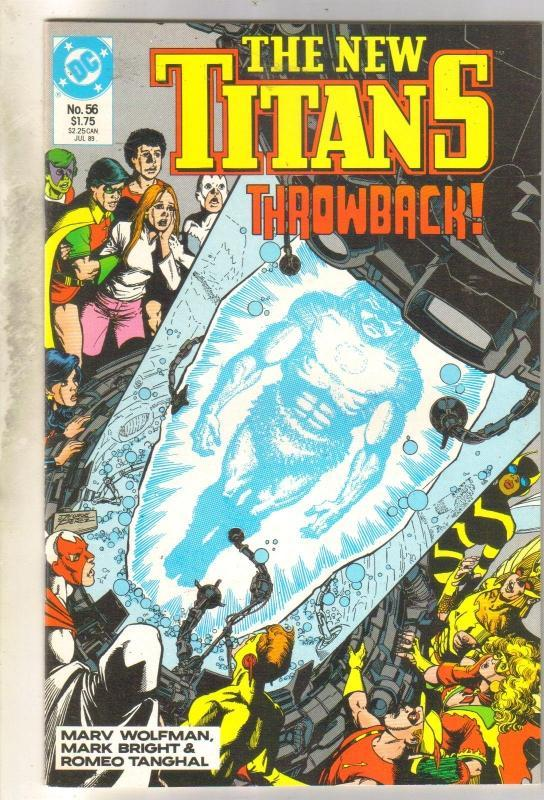 New Titans #56 comic book mint 9.8