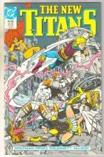 New Titans #58 comic book mint 9.8