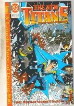 New Titans #61 comic book mint 9.8