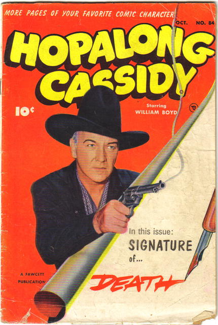Hopalong Cassidy #84 comic book vg 4.0