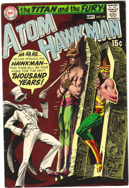 Atom and Hawkman #44 comic book fine/very fine 7.0