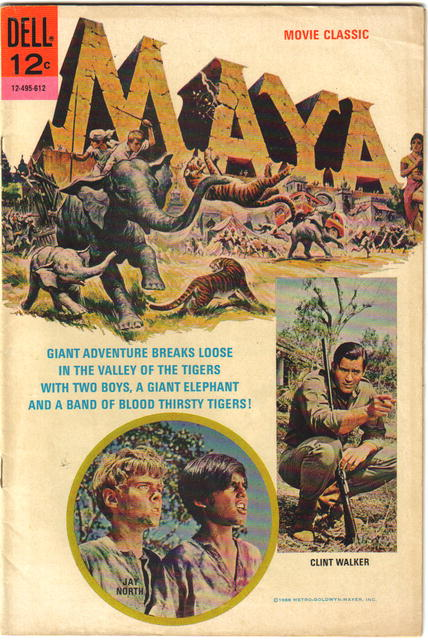 Maya movie classic comic book fine/very fine 7.0