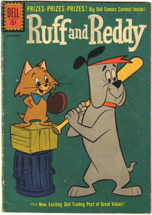 Ruff and Reddy #10 comic book very good  4.0