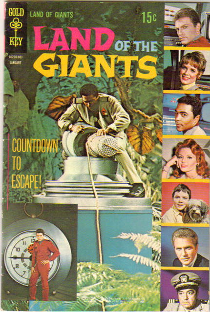 Land of the Giants #2 comic book fn 6.0