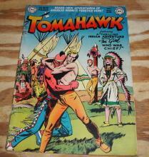 Tomahawk #5 comic book g/vg 3.0