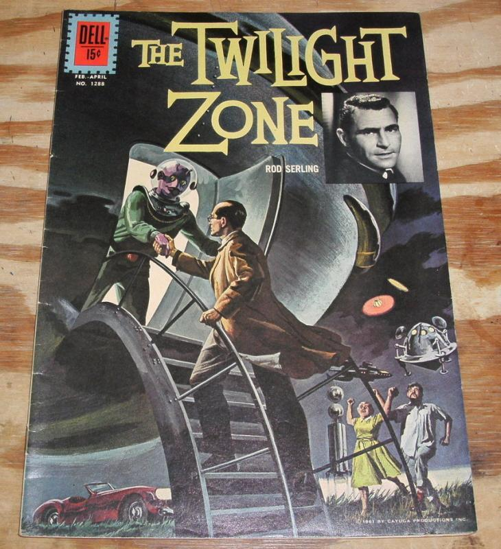 Twilight Zone #1288 comic vf 8.0
