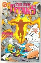 The New Titans #67 comic book mint 9.8
