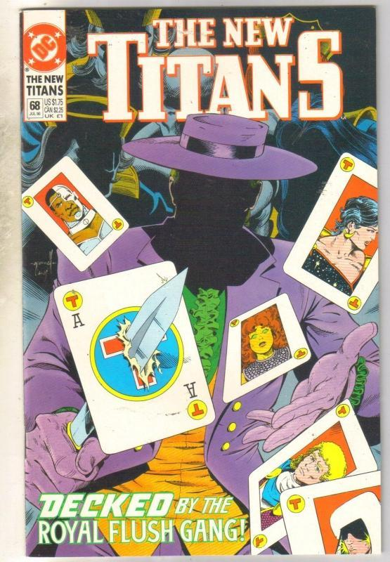 The New Titans #68 comic book mint 9.8
