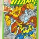 The New Titans #91 comic book near mint 9.4