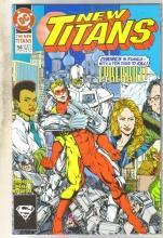 The New Titans #94 comic book near mint 9.4