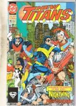 The New Titans #95 comic book near mint 9.4