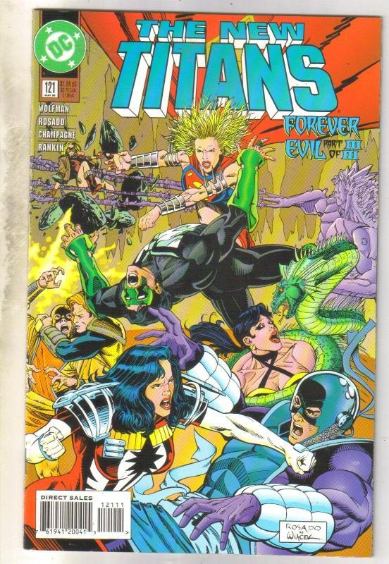 The New Titans #121 comic book near mint 9.4