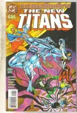 The New Titans #124 comic book near mint 9.4