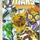 The New Titans #128 comic book near mint 9.4