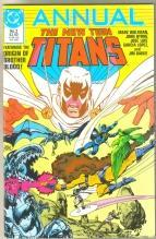 The New Teen Titans Annual #2 comic book near mint 9.4