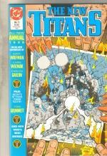 The New Titans Annual #5 comic book  near mint 9.4