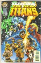 The New Titans Annual #11 comic book near mint 9.4