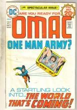 Omac One Man Army #1 comic book very good 4.0