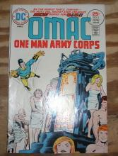 Omac One Man Army #5 comic book very fine/near mint 9.0
