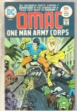 Omac One Man Army #6 comic book very good/fine 5.0