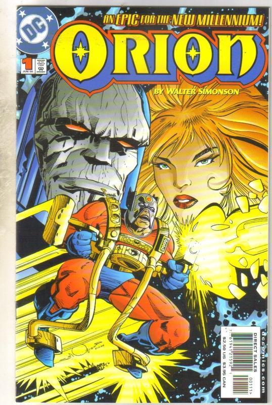 Orion #1 comic book near mint 9.4