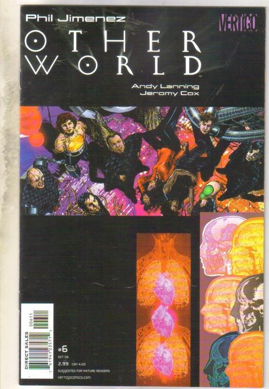Other World #6 Vertigo comic book near mint 9.4