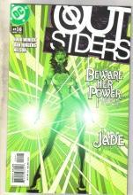 Outsiders #16 comic book mint 9.8