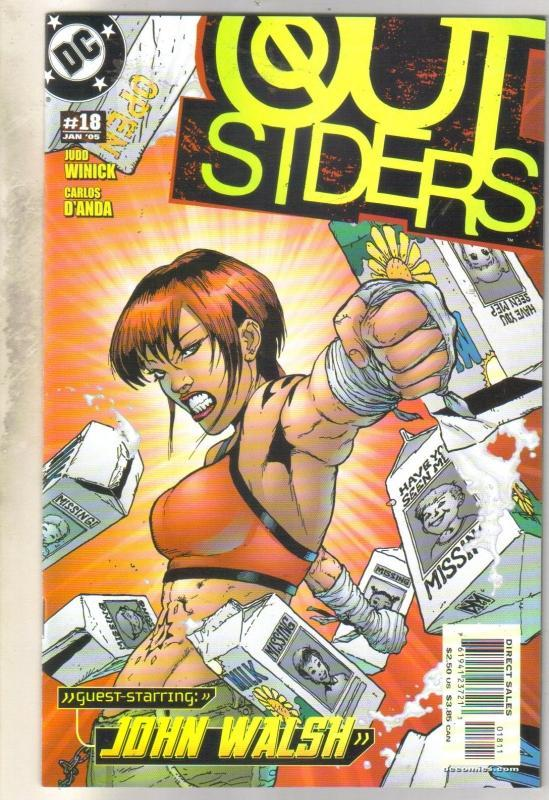 Outsiders #18 comic book mint 9.8