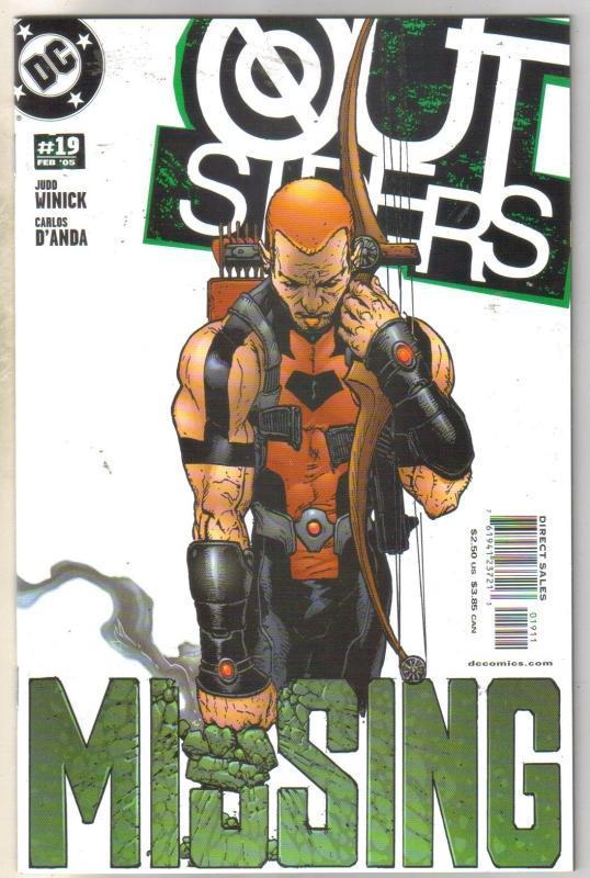 Outsiders #19 comic book mint 9.8
