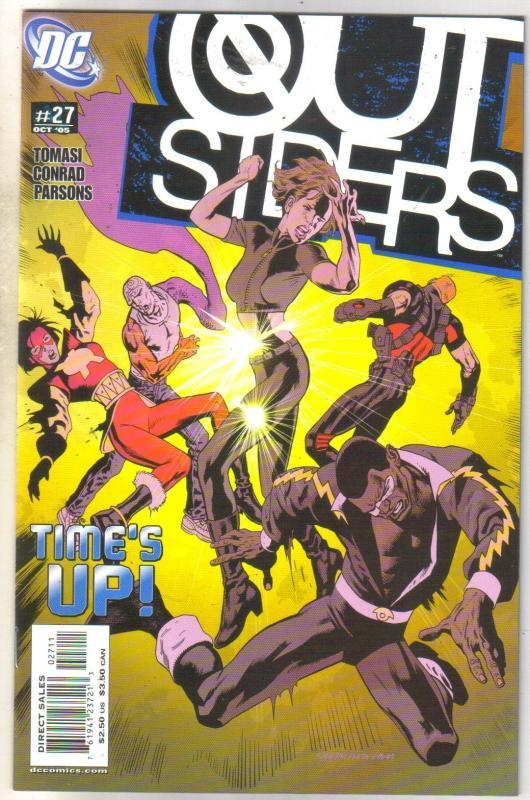 Outsiders #27 comic book mint 9.8