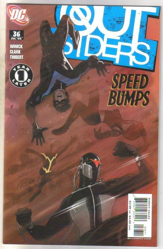 Outsiders #36 comic book mint 9.8