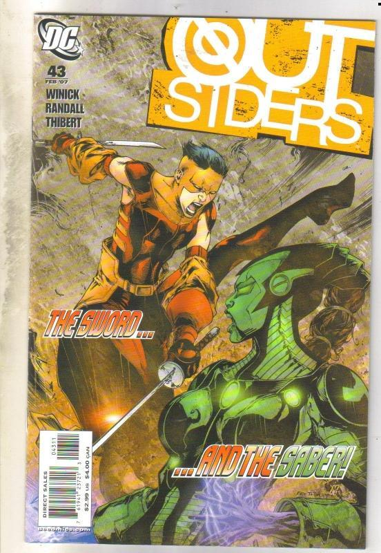 Outsiders #43 comic book near mint 9.4