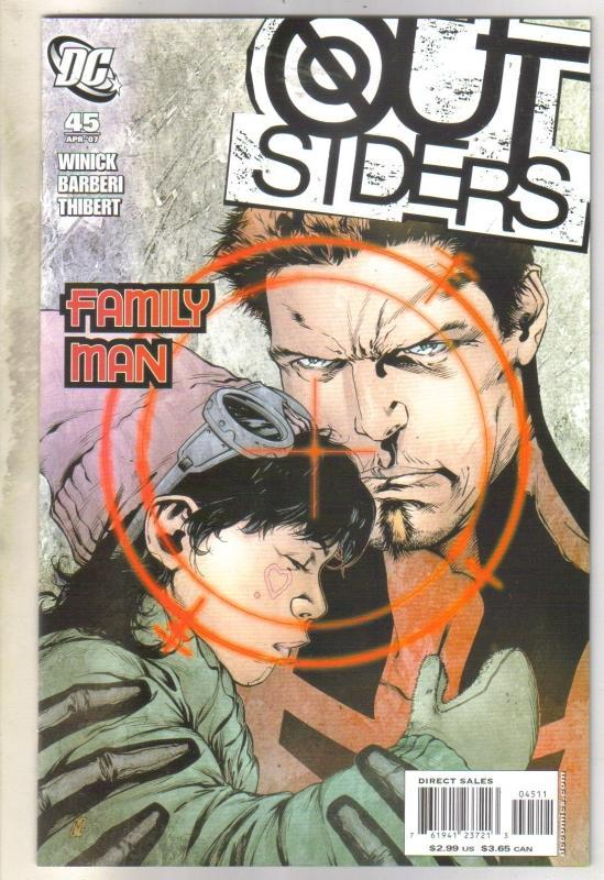 Outsiders #45 comic book mint 9.8