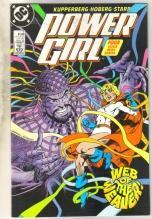 Power Girl #4 comic book near mint 9.4