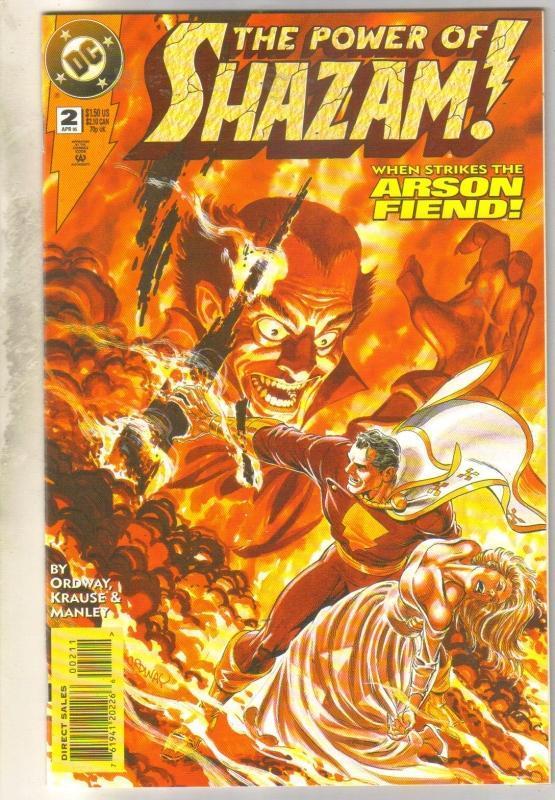 Power of Shazam #2 comic book near mint 9.4