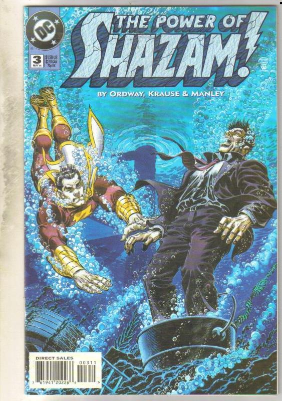 Power of Shazam #3 comic book near mint 9.4