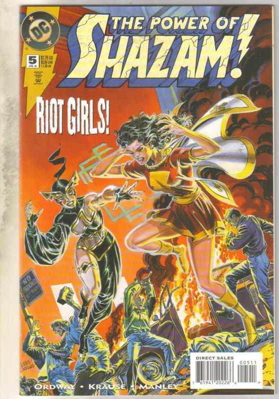 Power of Shazam #5 comic book near mint 9.4