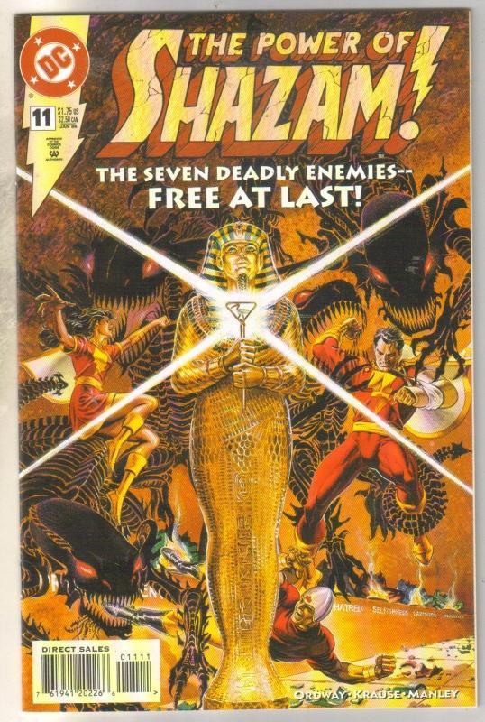 Power of Shazam #11 comic book near mint 9.4