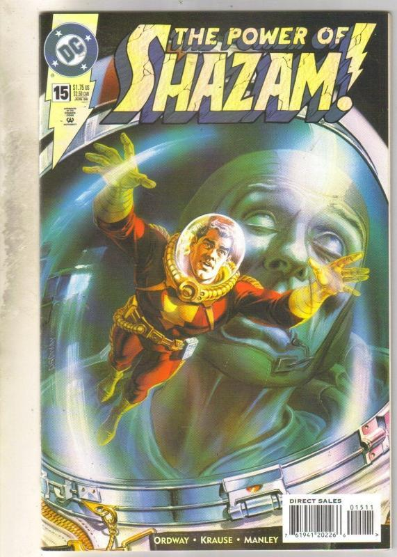 Power of Shazam #15 comic book near mint 9.4