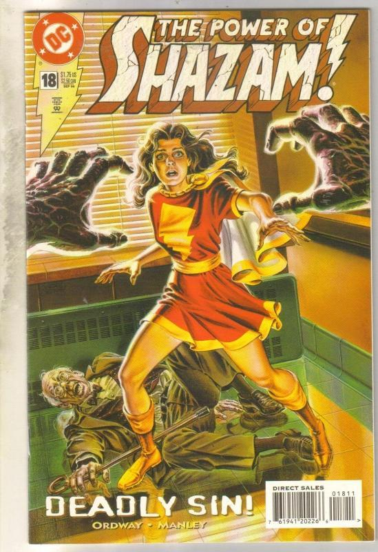 Power of Shazam #18 comic book near mint 9.4